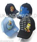 CHILDRENS KIDS BOYS BART SIMPSON BASEBALL CAP HAT PEAK SUMMER HAT BNWT