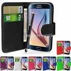 WALLET CASE POUCH PU LEATHER COVER FOR SAMSUNG GALAXY CORE PRIME SM-G360 MOBILE