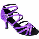TPS Latin Ballroom Salsa Custom-made Dance Shoes D810