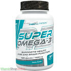 SUPER OMEGA-3 STRENGTH FISH OIL SUPPORTS HEART SKIN 3 TREC NUTRITION FREE P&P