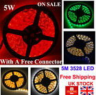 5M 300 LEDs Strip Light Party Decor Lamp Waterproof / RF Remote Controller UK