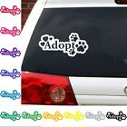 Dog Cat rescue adopt pet decal sticker car graphic mutt stray