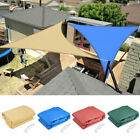 16.5' Triangle Sun Shade Sail Yard Canopy Patio Garden UV Blocking Color Option