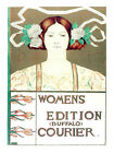 5190.Womens Edition Courier POSTER. Room Interior design.Decoration Art