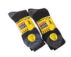 6 Pairs Mens Ultimate Work Boot Socks with cushioned sole Size 6-11 by Erbro