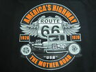 HOT ROD RAT ROD ROUTE 66 5 WINDOW COUPE LOWBOY MOTHER ROAD SLEEVELESS T SHIRT
