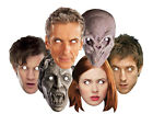 DOCTOR WHO Mask Packs OFFICIAL Party Face Masks The Doctor Companions Monsters