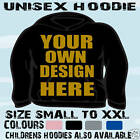 BULK BUY JOBLOT PERSONALISED UNISEX HOODIE HOODED TOP