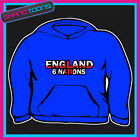 ENGLAND 6 NATIONS  HOODY HOODIE ALL SIZES & COLOURS