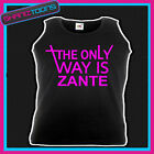 ZANTE HOLIDAY HEN PARTY TOWIE ESSEX UNISEX VEST TOP