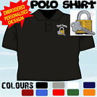 PERSONALISED EMBROIDERED LOCKSMITH UNIFORM WORKWEAR T POLO SHIRT