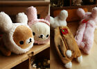 Cute Cartoon Rilakkuma San-X Plush Pen Pencil Case Storage Bag Zip Purse Wallet