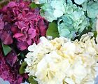 17in (43cm) SILK BIG BRUSH OF HYDRANGEA *CLASSIC CLRS  WEDDING/HOME DECO