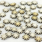 Mini wooden daisy flowers ideal cardmaking scrapbooking embellishments crafts