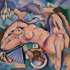 Bacchante, c.1910-Andre Lhote -- Nude Art on Canvas