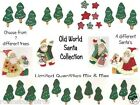 Old World Santas  Trees  Stars Craft Scrapbooking Cards Gift Tags Embellishments