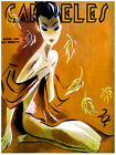 Carteles magazine sexy cover Cuaban Decorative Poster. Fine Graphic Design. 2868