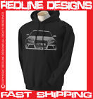 AUDI RS4 MENS HOODIE AVANT STUNNING ARTWORK DTG ALL SIZE & COLOURS AVAILABLE R1