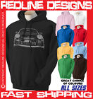 911 PORSCHE SPORTS SUPER CAR HOODIE DTG ALL SIZES & COLOURS AVAILABLE R36