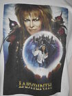 * LABYRINTH *  T SHIRT! .. BOWIE CLASSIC 80'S MOVIES