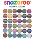 ** SNAZAROO FACE PAINTS - 25 Shades including Clown White Pots !!