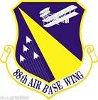 STICKER US AIR FORCE 88th Air Base Wing