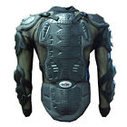 CE MOTORCYCLE MOTOCROSS BIKE GUARD PROTECTOR ADULT BODY ARMOR BLACK CE CERTIFIED