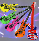 INFLATABLE NOVELTY FANCY DRESS BLOW UP GUITAR MUSICAL INSTRUMENT FUN PARTY TOY