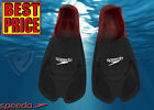 BRAND NEW SPEEDO BIOFUSE TRAINING FIN RED/BLACK UK SIZES 3,4,5,6,7,8,9,10,11,12