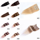 "15""-28"" Remy Human Hair clips in Extensions Fashion colors,75g/105g/140g"