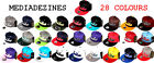 BNWT NEW YORK FITTED RETRO VINTAGE SNAPBACK FLAT PEAK BRIM HATS CAPS *ONE SIZE