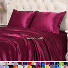 1 PC 16MM 100% Pure Silk Pillow case / Pil​low Cover 30 colours Standard 50x66cm