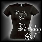 Birthday Girl, Damen Geburtstags Fun T-Shirt (FSG072)
