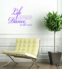 DANCE IN THE RAIN wall quote sticker decal graphic