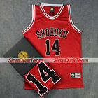SLAM DUNK Cosplay Costume Shohoku School Basketball #14 Mitsui Replica Jersey R