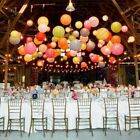 Внешний вид - 10X Round Paper Lanterns Wedding Party with Led Light Decoration USA