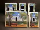 Palm Tree Trees Tropical Paradise Beach Light Switch Or Outlet Cover V370