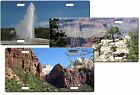 CUSTOM PERSONALIZED NAT'L PARKS, MEMORIALS, MONUMENTS LICENSE PLATE-ADD ANY TEXT