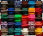 paracord red - 550 PARACHUTE CORD - 30 COLORS - 10, 20, 50, 100 FT - 7 STRAND - USA MADE