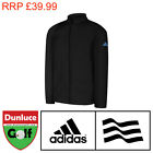 ADIDAS JUNIOR PROVISIONAL BLACK RAIN JACKET - 032976 - WATERPROOF KIDS GOLF SUIT