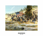 Mission from Taegu -  Korea- 1951- US Army National Guard Art on Canvas