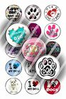 Pre-Cut 1 Inch Circle - Puppy Dog Sayings Bottle Cap Images of Your Choice
