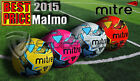 NEW 2015 MITRE MALMO TRAINING FOOTBALL - ALL COLOURS - SIZES 3,4,5