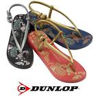 LADIES FLAT SANDALS GIRLS SUMMER BEACH CASUAL SUMMER TOE POST FLIP FLOPS SHOES