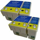 4 Non-OEM Replacements for Epson T036/T037 Printer Ink Cartridges.UK VAT Invoice