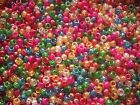 5000 Glitter Pony Beads ,Mixed or Single colour,FOR DUMMY CLIPS,HAIR BRADING