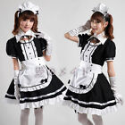 Red Cosplay Sexy black Beer Lolita Maid Outfit Costume Party dress Set apron
