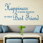Best Freind - Love Quote Transfer / Large Art Decor / Romantic Wall Quote DAQ23
