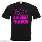 Bad Girls Kavos Hen Party Adults Mens T Shirt 12 Colours Size S - 3XL