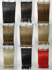 One Piece 24inch straight hair extension clip-on hot heat resistant fiber cap